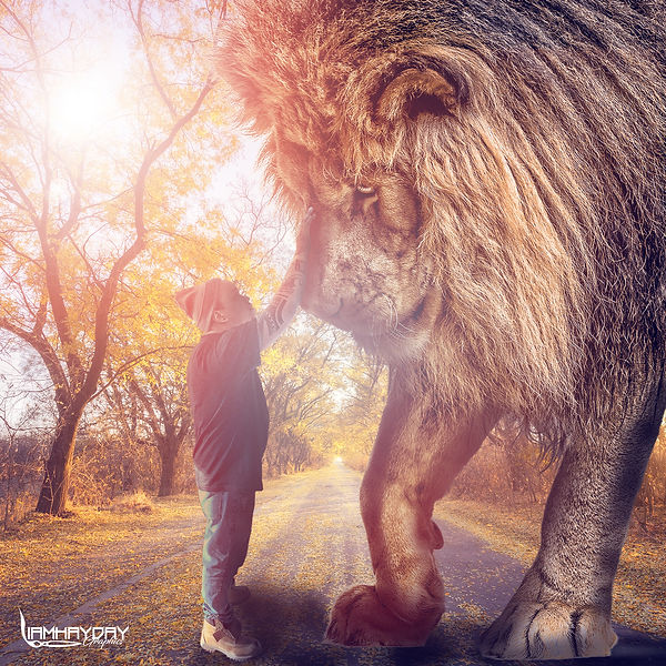 me and my lion.jpg