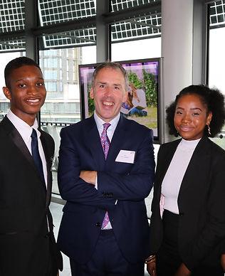 Schoolboy in uniform, schoolgirl in uniform, Ian Davenport, Royal National Children's SpringBoard Foundation, Boarding Schools' Association (BSA), inclusion