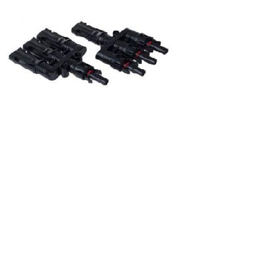 MC4 3 Way Connector Set