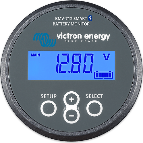 Victron Precision Battery Monitor BMV-712 Smart 9-90Vdc with 500A Shunt