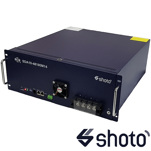 SHOTO SDA10-48100 L5 4.8Kw 48V Lithium Battery with 125A CB