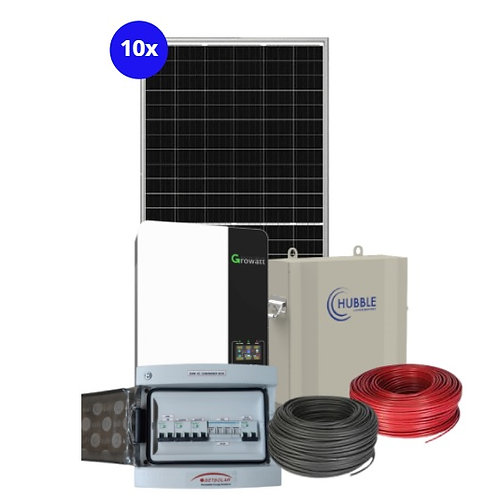 5kW Inverter System with 5.5kW battery backup