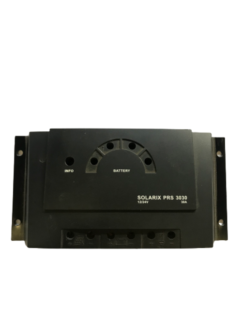 Setsolar PRS3030 12/24V Solar Charge Controller with LED
