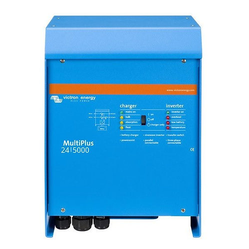 Victron MultiPlus Inverter 24V 5kVA 120Adc Charger 100Aac Transfer Relay