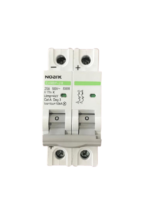 Circuit Breaker NK 2P 25A 500VDC