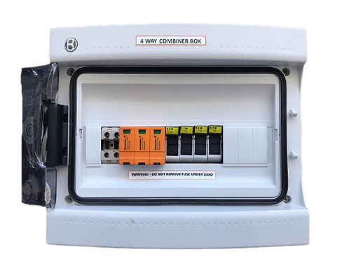Combiner Box-HV DC 4 Way with Lightning Protection