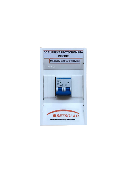 DC Current Protection Box 63A 220VDC CXS