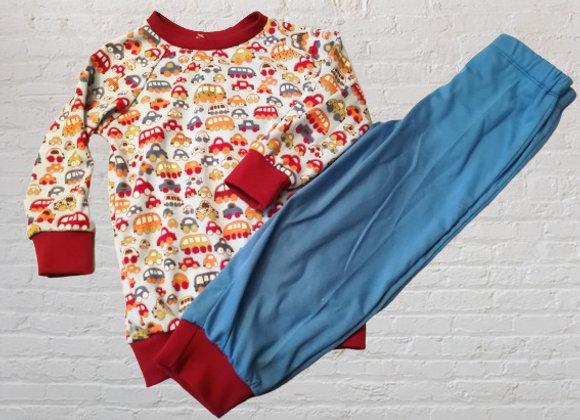 Pyjama Auto Gr. 104