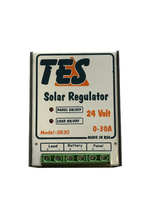 TES 30A 24V Solar Charge Controller with LED Indicator (demo)