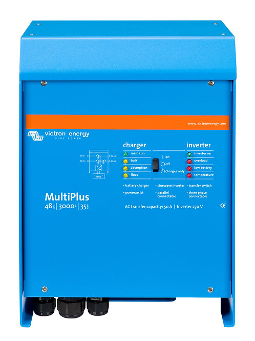 Victron MultiPlus Inverter 48V 3kVA 35Adc Charger 50Aac Transfer Relay