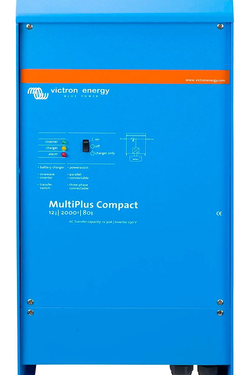 Victron MultiPlus Compact Inverter 12V 1600VA 70Adc Charger 16Aac Transfer Relay
