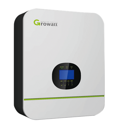 Growatt 5KW 48V Inverter/Charger with 80A MPPT (inc. parallel card and wifi)