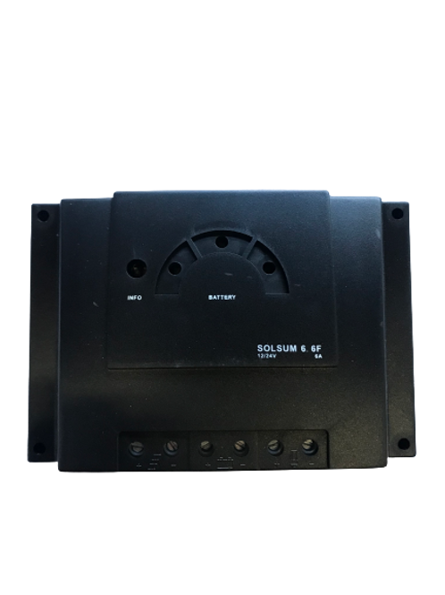 Steca PRS1010 12/24V 10A solar charge controller with LED display