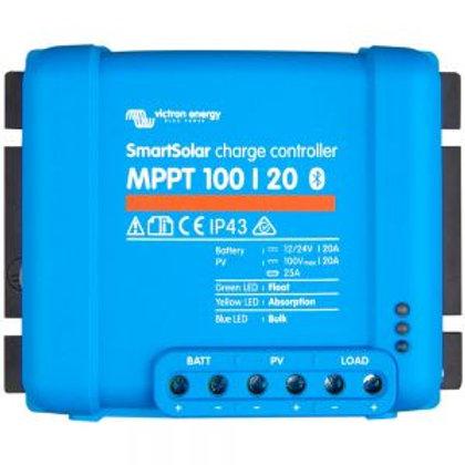 Victron SmartSolar MPPT 100/20 - 100Voc input/20A Charge (12/24V)