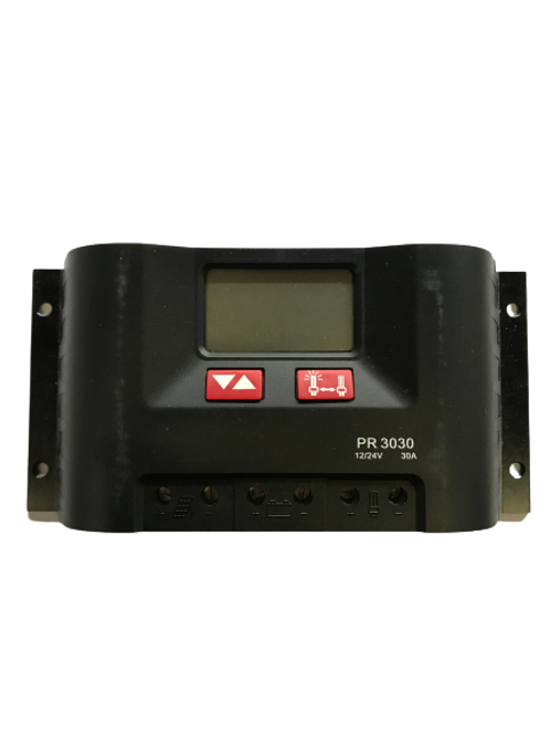 Setsolar PR3030 12/24V Solar Charge Controller with LCD