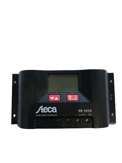 Steca PR1010, 10A 12/24V Solar Charge Controller with LCD display
