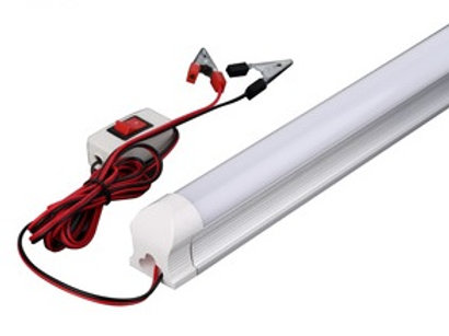 600mm 12V 8W T8 Tube Light with Switch