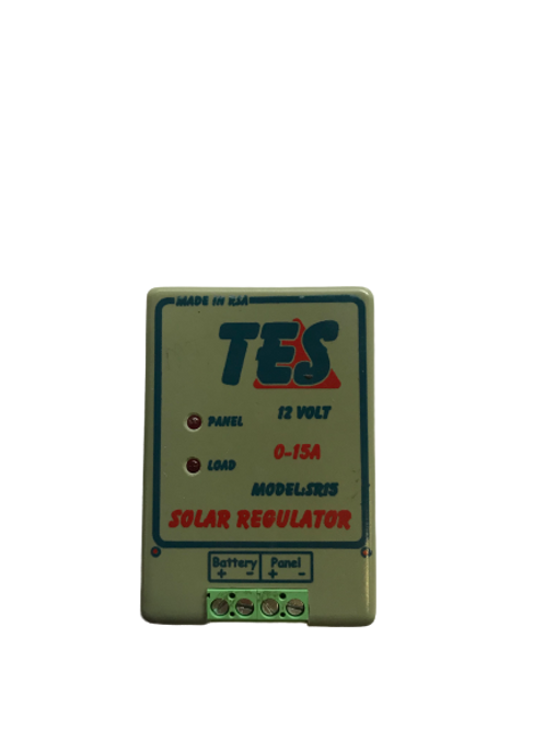 TES 15A 12V Solar Charge Controller with LED Indicator (demo)