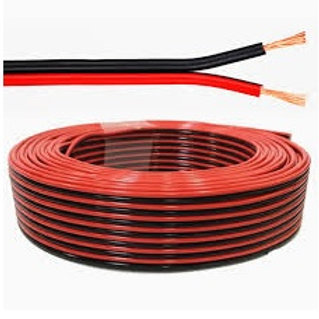 Cable - Ripcord - 2.5mm2 x2core (Red & Black)