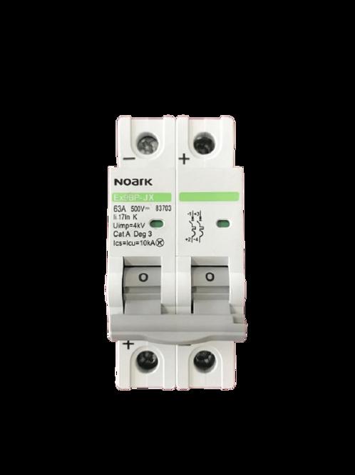 Circuit Breaker NK 2P 63A 500DC (Polarized)