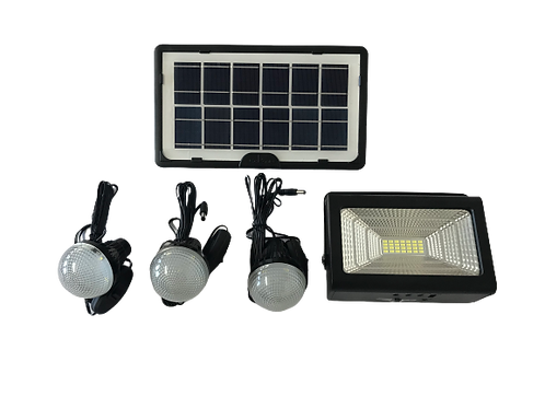 30W CCL Solar Light Kit with Charging Ports