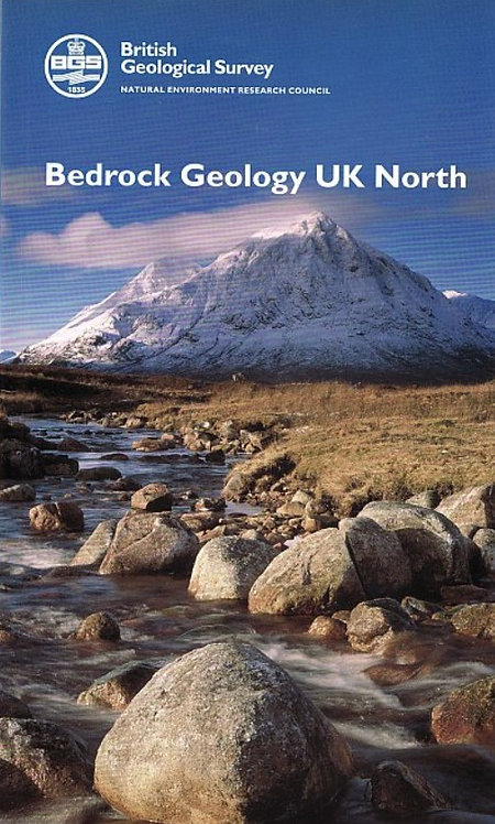 Bedrock Geology UK (North) Map