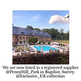 Pennyhill Park Hotel Bagshot Surrey Wedding Venue Wedding Creche Wedding Nannies Babysitting