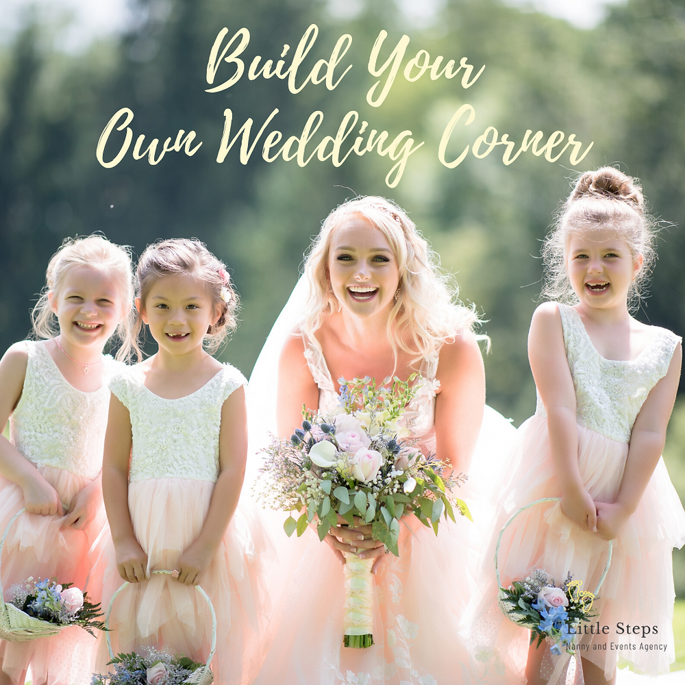 Build Your Own Wedding Creche for Children