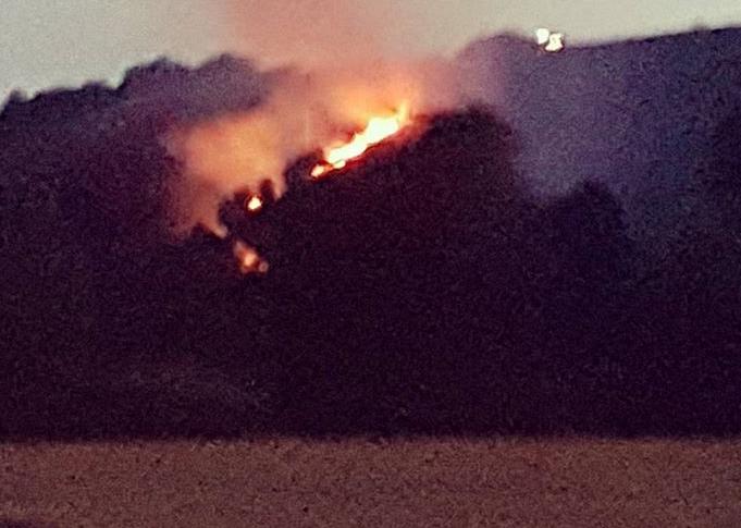 incendio Castelnuovo di Porto 2