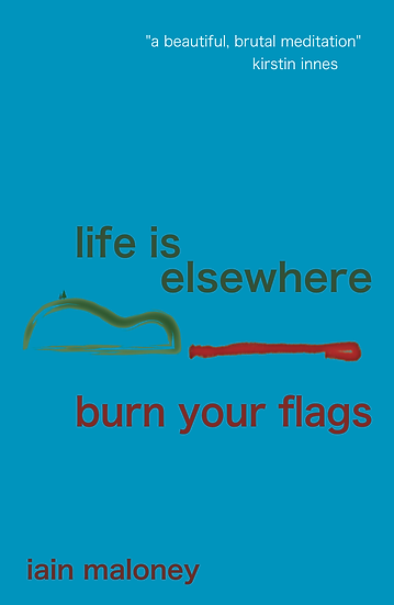 front cover of Life Is Elsewhere / Burn Your Flags