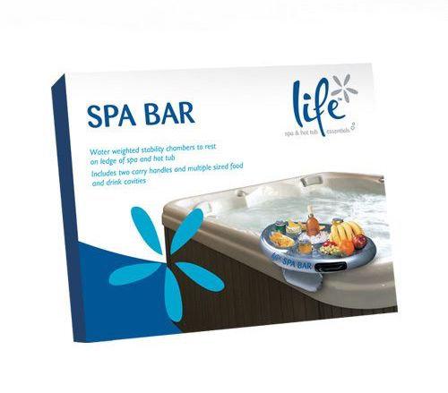 Bar flottant piscine et spa
