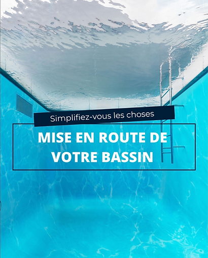 Mise en route piscine à Reims