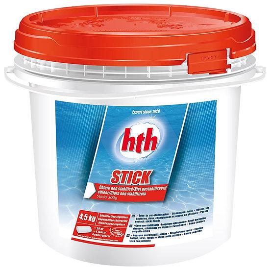 Stick chlore non stabilisé HTH 4,5 kg