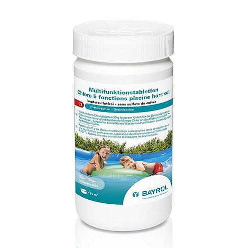 Chlore 5 fonctions piscine hors-sol - BAYROL