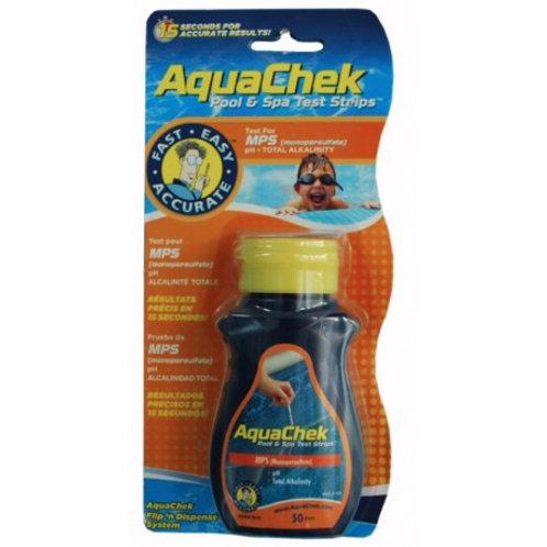 Orange Bandelettes test (oxygène actif) - AQUA CHEK