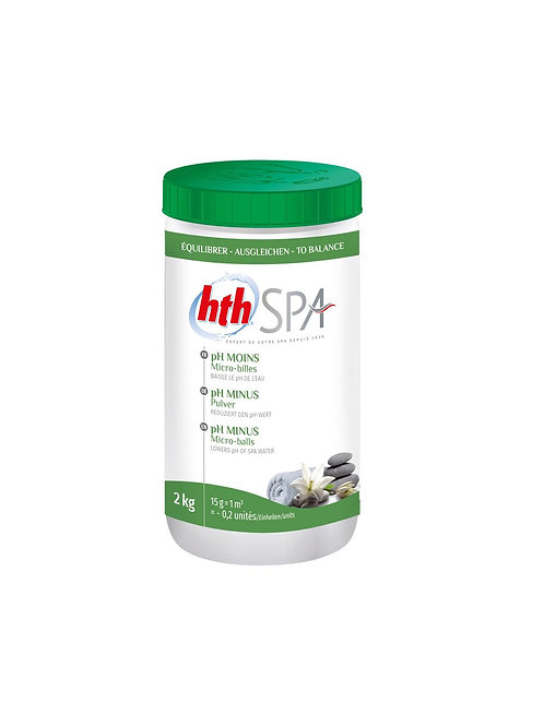 pH - moins- HTH Spa
