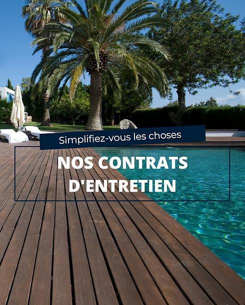 Contrat entretien piscine à Reims