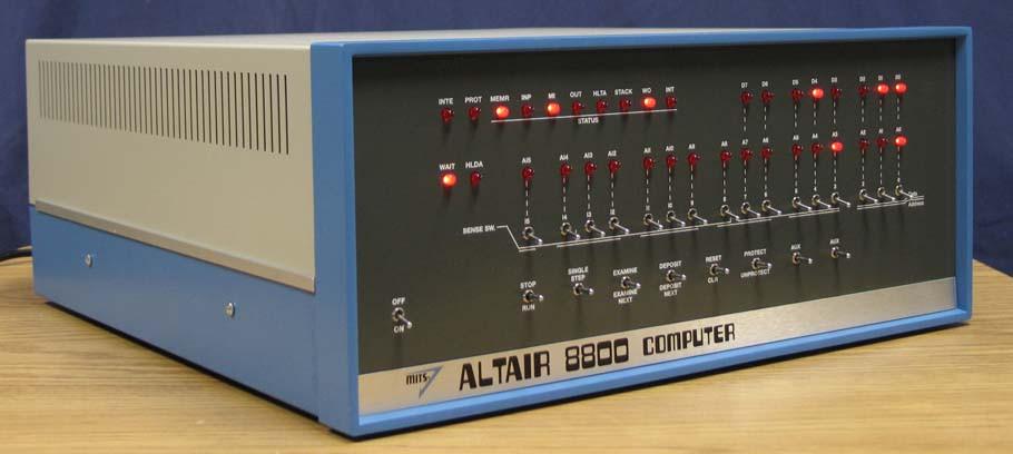 Altair 8800, демонстрируемый в Смитсоновском музее