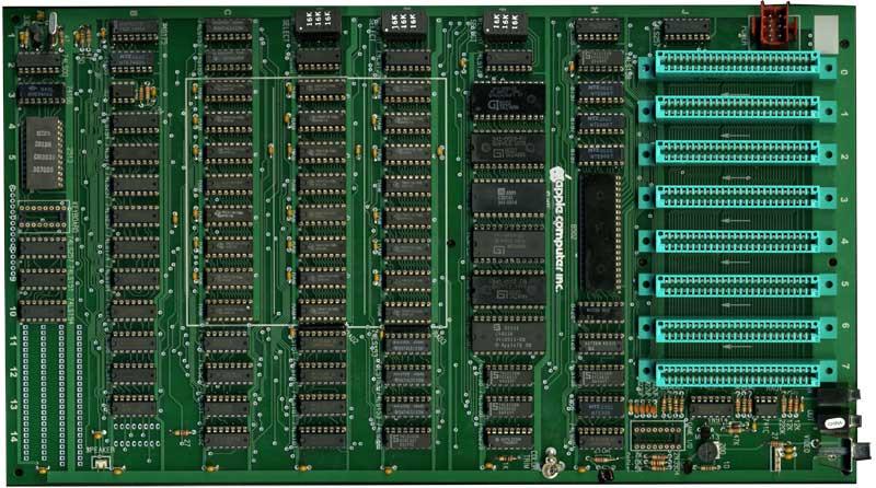 Реплика материнской платы компьютера Apple II Rev 0