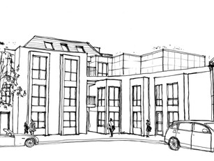 North London Brownfield Development Submitted to Planning