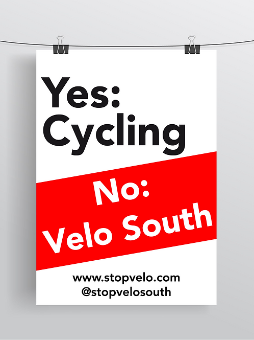 Yes Cycling, No Velo South