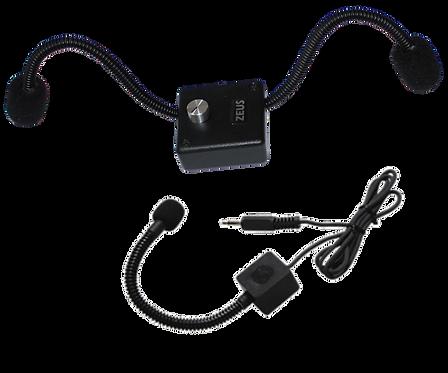 ZEUS-DBA  Diskant Mikrofon-Abnahmesystem mit Bass-Anbindung