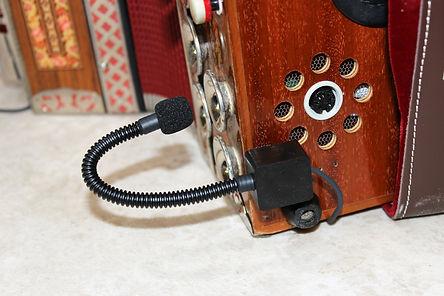Blueline Bass-Mikrofon Bass-Anbindung