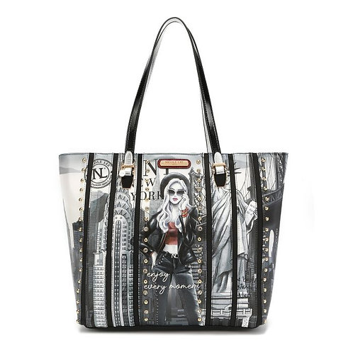 LIFE IN NEW YORK CHIC TOTE BAG