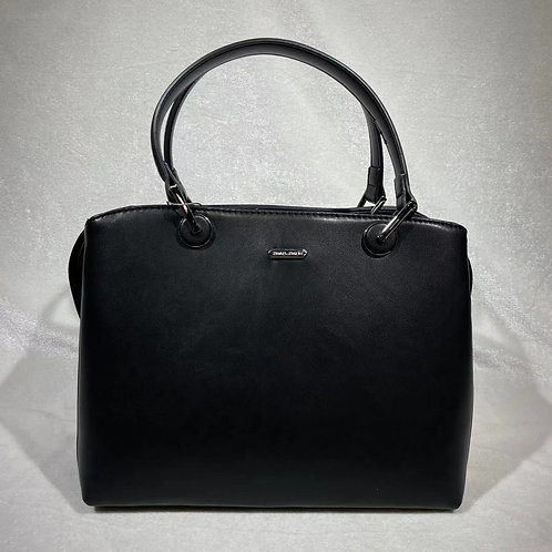DAVID JONES FASHION SATCHEL BAG CM6001 BLACK