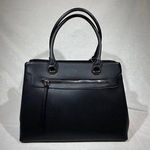 DAVID JONES FASHION SATCHEL BAG CM6027 BLACK