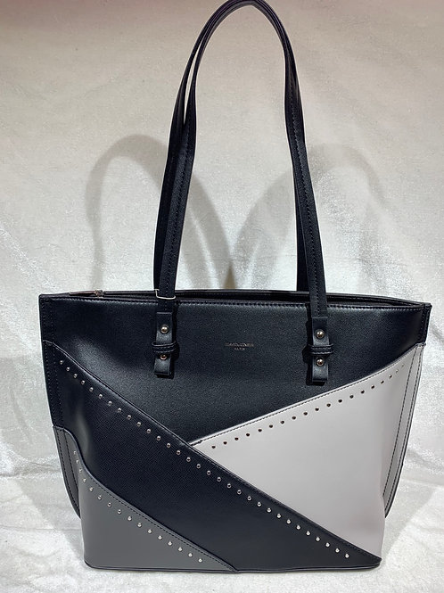 CHIC MODERN TOTE BAG David Jones 6231-2 BK