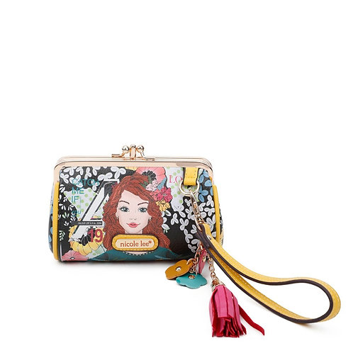 NICOLE LEE CATCH ME IF YOU CAN KISS LOCK WRISTLET COLLECTION CP6614-CMC