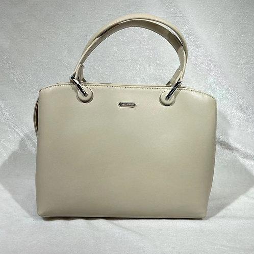 DAVID JONES FASHION SATCHEL BAG CM6001 BEIGE
