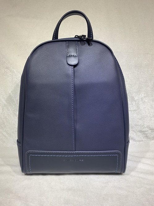 DAVIDJONES INSPIRED STYLISH BACKPACK CM5713 DARK BLUE